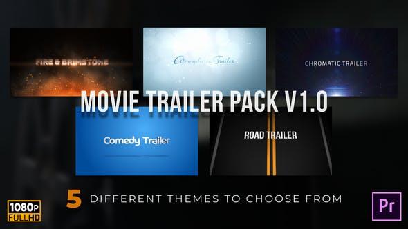 Thumbnail for Movie Trailer Pack v1.0 •MOGRT for Premiere Pro