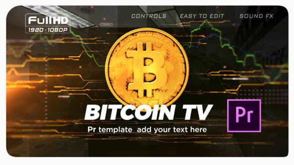Thumbnail for Bitcoin Trading Opener | Premiere Pro