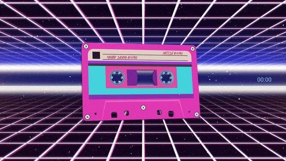 Thumbnail for Cassette Audio Visualizer Pack