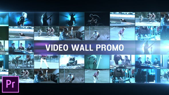 Thumbnail for Video Wall Promo - Premiere Pro