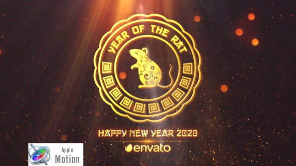 Thumbnail for Chinese New Year 2020 - Apple Motion