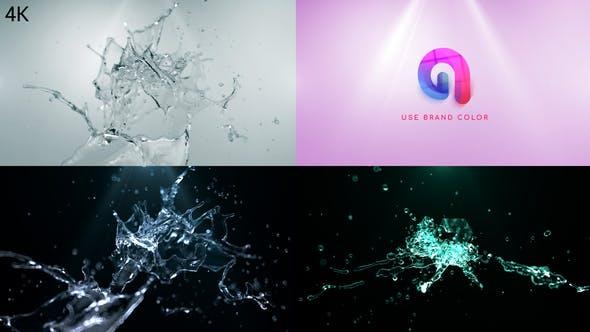 Water Splash Logo Reveal 2