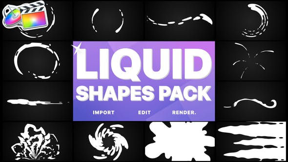 Thumbnail for Liquid Shapes Pack | FCPX