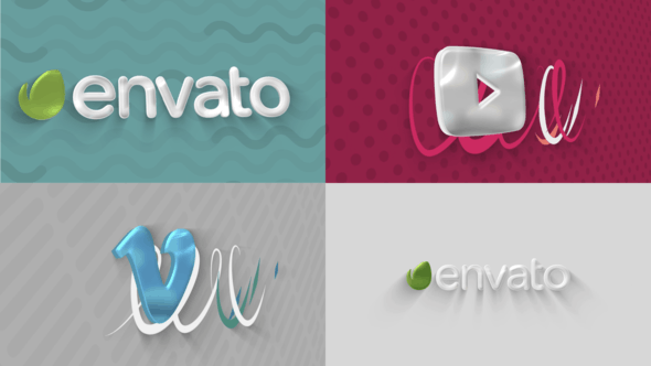 Thumbnail for Glossy Logo 3D Sting