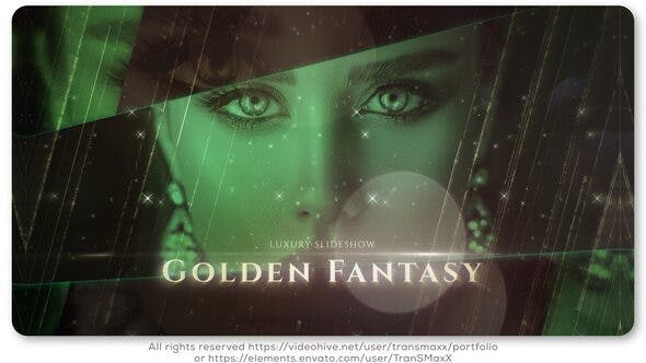 Thumbnail for Golden Fantasy Luxury Slideshow