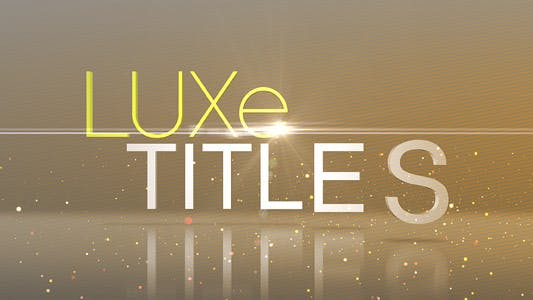 Thumbnail for Luxe Titles