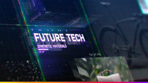 Thumbnail for Futuristic HUD Slideshow