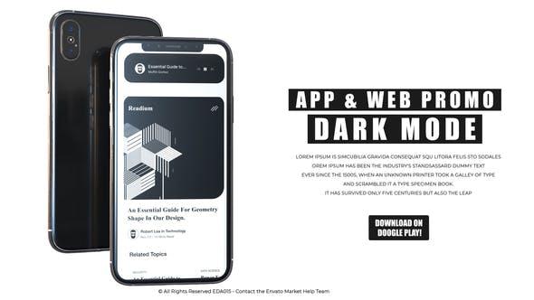 Thumbnail for io - Promo de Mockup Appli & Web