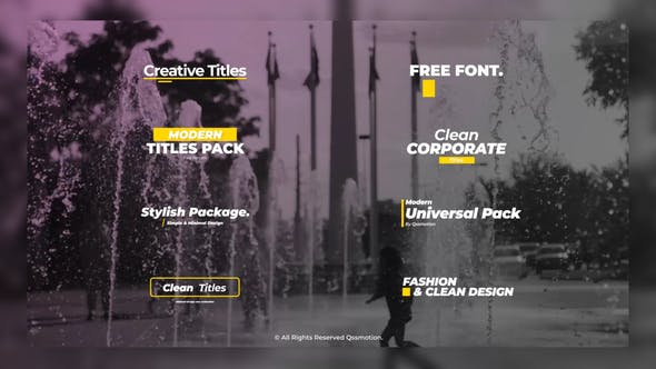 Minimal and Creative Titles