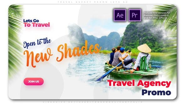 Thumbnail for Travel Agency Promo Lets Go