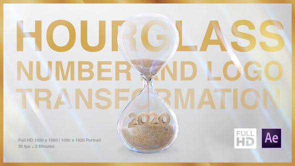 Thumbnail for Hourglass Number and Logo Transformation