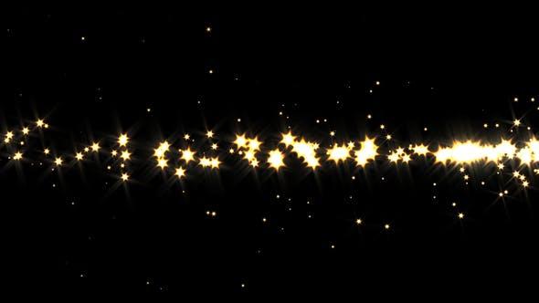 Gold Star Dust Sparkles