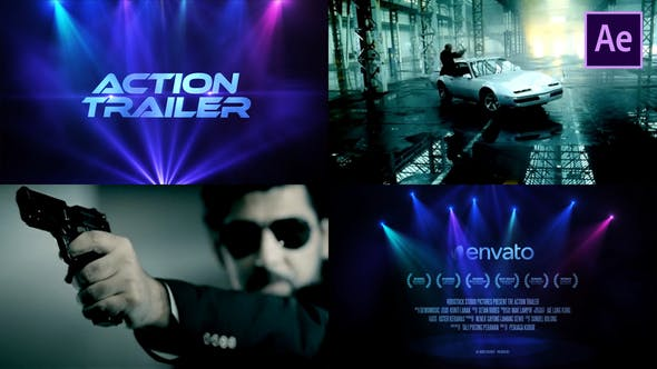 Thumbnail for Bande-annonce de film d'action