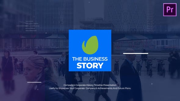 Thumbnail for The Business Story MOGRT