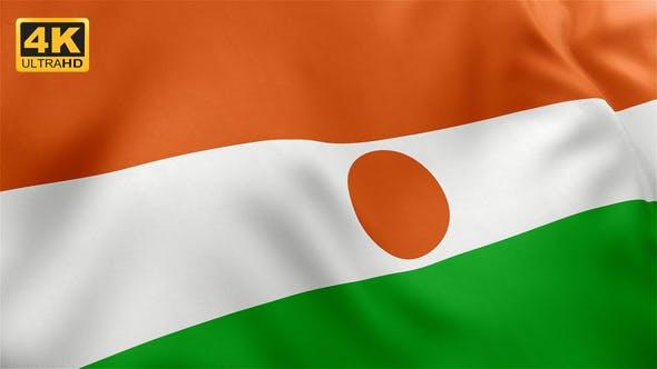 Thumbnail for Flag of Niger - 4K