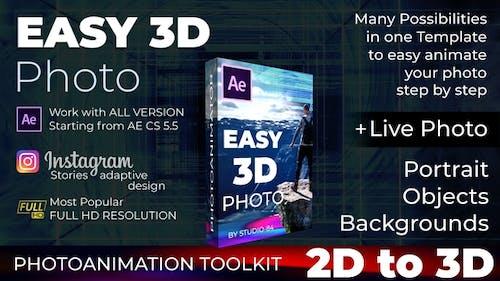 Photo animator - Easy 3D Photo