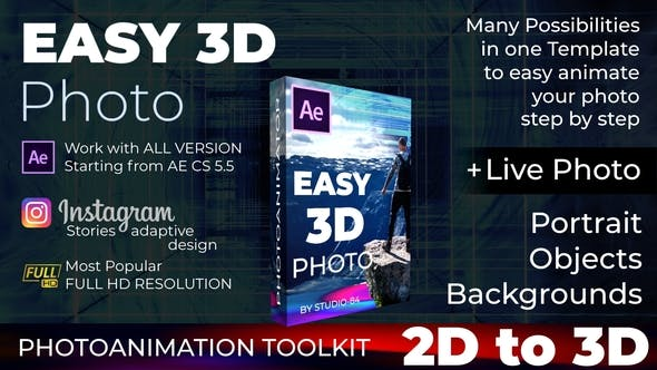 Photo animator - Easy 3D Photo