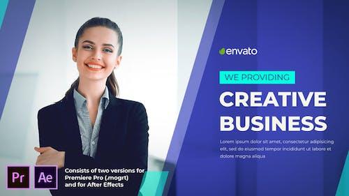 Creative Business Slideshow