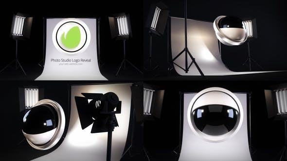 Thumbnail for Photo Studio Logo Reveal