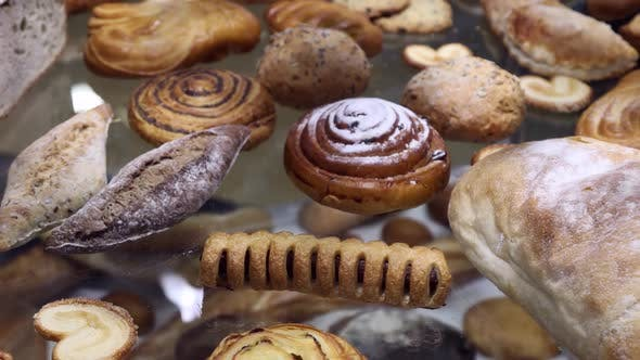 There are Many Different Buns Cheesecakes Cookies and Other Confectionery Products