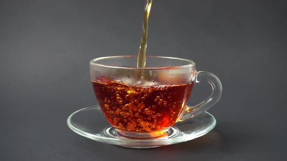 Thumbnail for Tea is Poured into the Cup