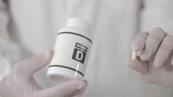 Thumbnail for Vitamin D Capsule in Hand