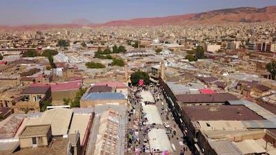 Historical Middle East Capital City, Tabriz and Bazaar, Iran