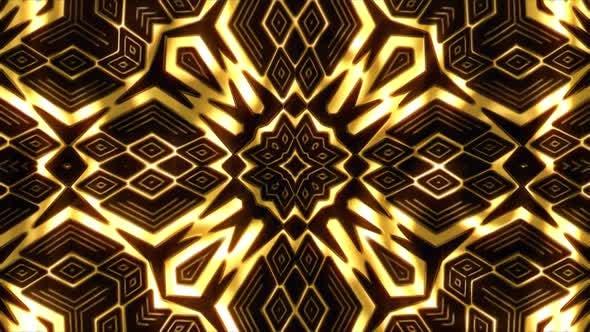 Gold Patterns Background
