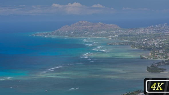 Thumbnail for Ocean Coastline From Koko Crater