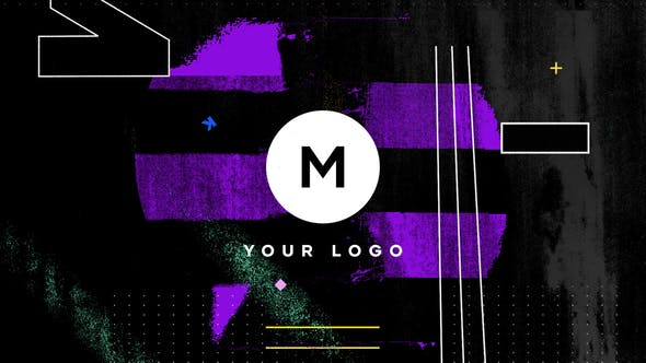 Thumbnail for Logo de distorsion Grunge