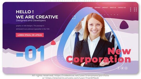 Thumbnail for New Corporation Slideshow