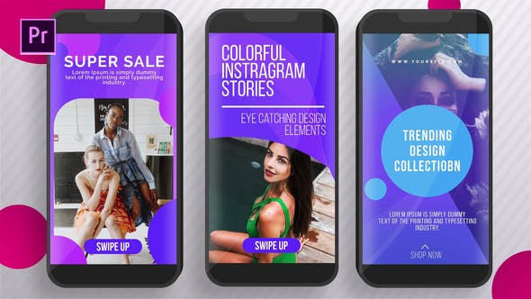 Cover Image for Colorful Instagram Stories