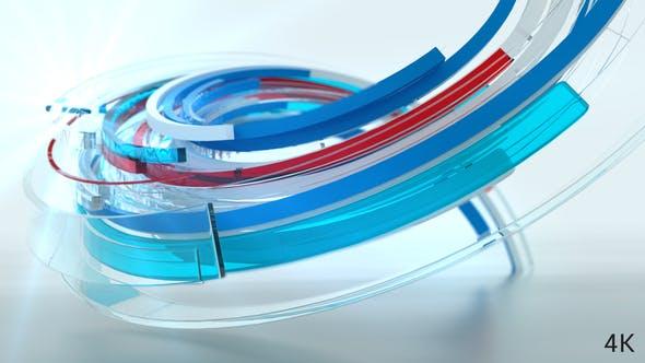 Cover Image for 3d Ribbon Logo Reveal