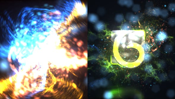 Thumbnail for Particles Blast Logo Reveal