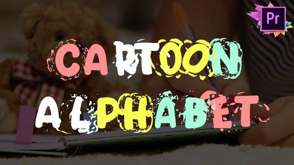 Cartoon Alphabet | Premiere Pro MOGRT