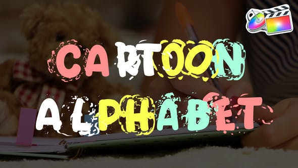 Thumbnail for Alfabeto de dibujos animados | FCPX