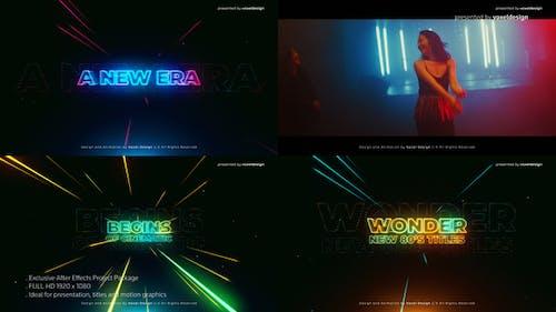 Wonder 80's Cinematic Titles