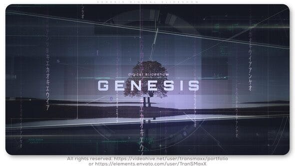 Thumbnail for Genesis Digital Slideshow