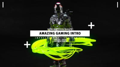 Gaming Intro - Gamer channel opener