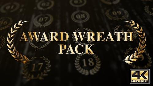 Award Wreath Pack 4K