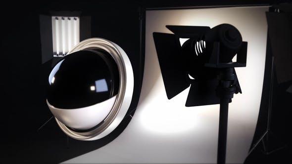 Thumbnail for Révélation du Logo du studio photo abstrait