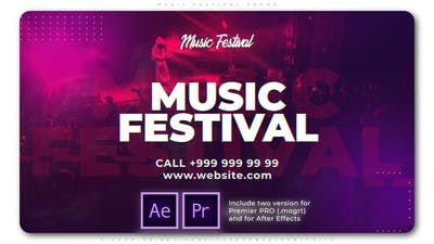 Music Festival Promo
