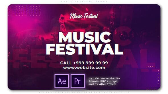 Thumbnail for Music Festival Promo