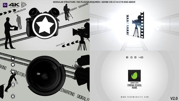 Thumbnail for Cinema Or Photo School Logo v2