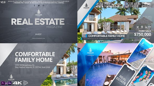 Thumbnail for Real Estate Magazine / Broadcast ID v2.3