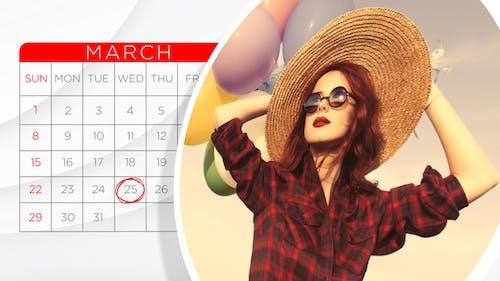 2020 Calendar Slideshow