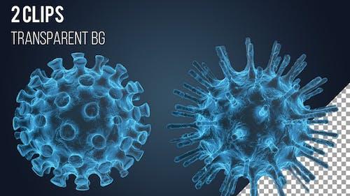 Virus Electron Microscopy Image Effect