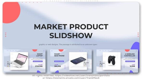 Thumbnail for TV Market Product Slideshow