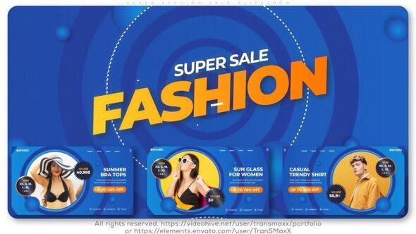 Thumbnail for Super Fashion Sale Slideshow