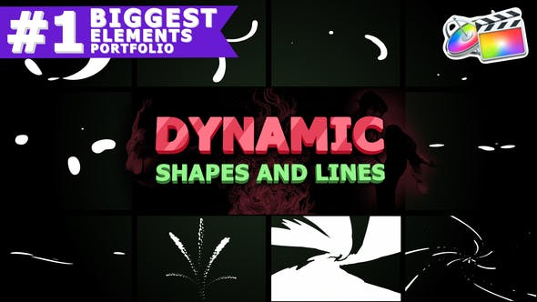 Thumbnail for Dynamic Shapes and Lines | FCPX